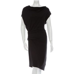 Helmut Lang asymmetrical dress